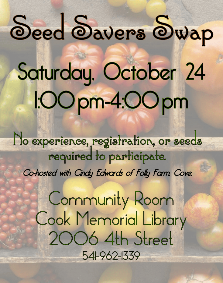 Seed Swap October 24
